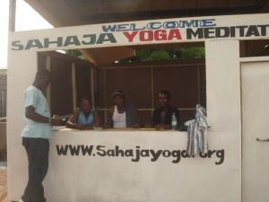 Sahaja Yoga stall